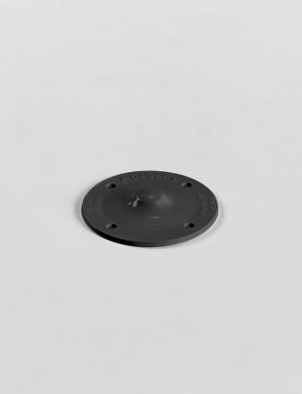 b/s/t PVC Halteteller RAL 7016  Farbe: schiefergrau