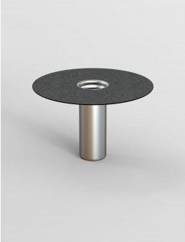 b/s/t ALIT Gully Bitumen DN 125 / RL 450 mm (Aufstockelement)