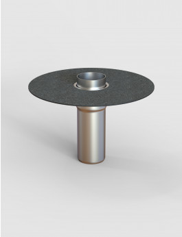 b/s/t ALIT Notüberlauf S Bitumen DN 100 RL 300mm