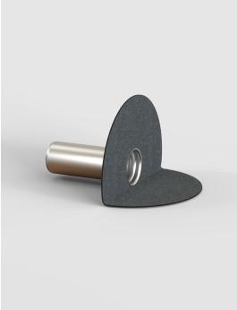 b/s/t ALIT Wasserspeier Bitumen DN 125 / RL 450 mm