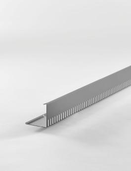 b/s/t PVC-ALU-Kiesfangleiste 90 mm anthrazit