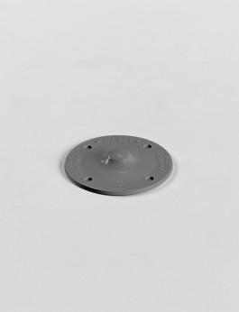 b/s/t PVC Halteteller RAL 7000  Farbe: fehgrau