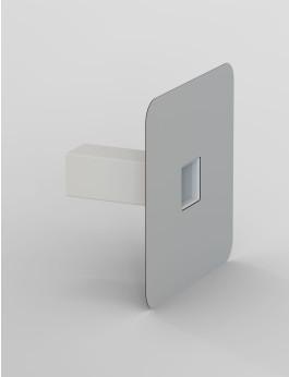 b/s/t PVC Notüberlauf R  90x90mm