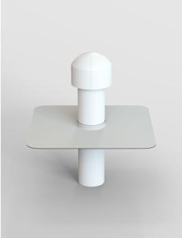 b/s/t PVC Strangentlüfter WD DN 150 inkl. Regenhaube