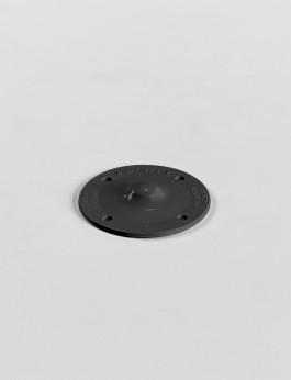 b/s/t PVC Disc slate grey