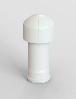 b/s/t weather cap with connection pipe DN 100