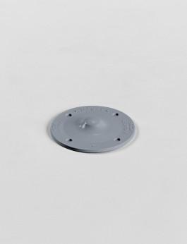 b/s/t PVC Disc stone grey